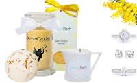 Logo JewelCandle: vinci gratis 4 prodotti per la Festa della Donna