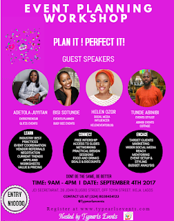 Plan it ! Perfect it: The Smart Event planner workshop