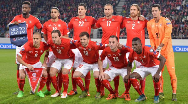 Skuad Swiss Piala Eropa 2016