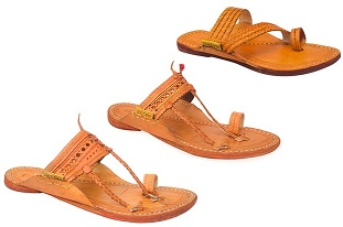 Ethnic Kolhapuri Chappals by Paytaan for Rs.371 Only @ Nearbuy