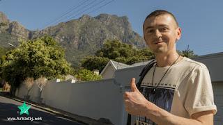 Wanderung zum Tafelberg vom Bremerhavener Musiker Arkadij