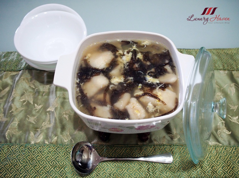 bitter melon seaweed egg drop fish soup recipe