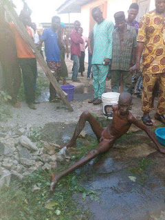 Mysterious  Boy Seen in Middle of a  Concrete Wall in Ondo State [Photo ] 7