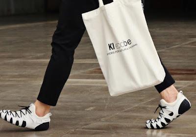 Zapatillas a tu medida y a tu gusto :Kiecobe, un tipo de calzado completamente modular.