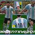 Kit [Uniforme] da Argentina 2016 Para Pes6 by SonicTheKitmaker
