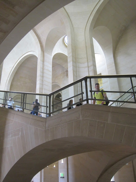 Architect Design Louvre Staircases ' Factor Of Scale