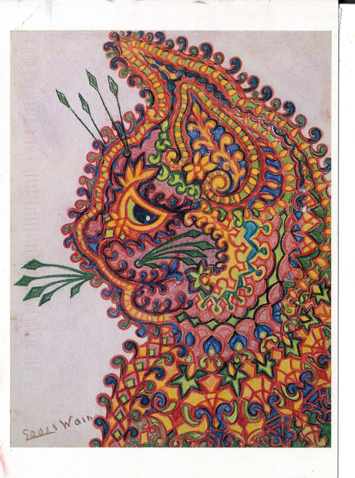 d8ee4f18e58 Louis Wain  Schizophrenic Artist Obsessed With Cats