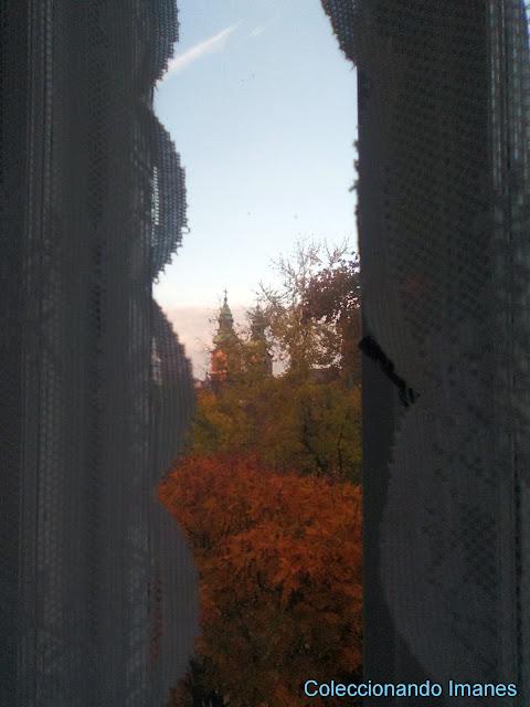 Vistas desde el apartamento de Budapest