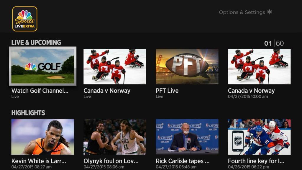 NBC Sports Live Extra Apk App For Android, Ios, Roku, Fire TV - New