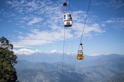 Passenger Ropeway in Darjeeling