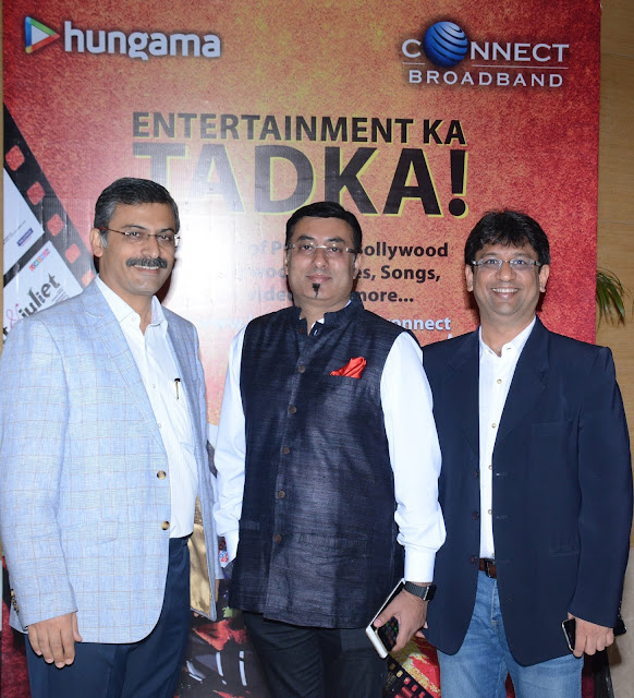 Sanjay Bahl, Vice President, Marketing, Connect Broadband, Sidharth Roy, CEO ,  Hungama-min