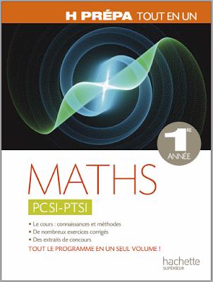 Télécharger Livre Gratuit Maths PCSI - PTSI, 1ère année pdf