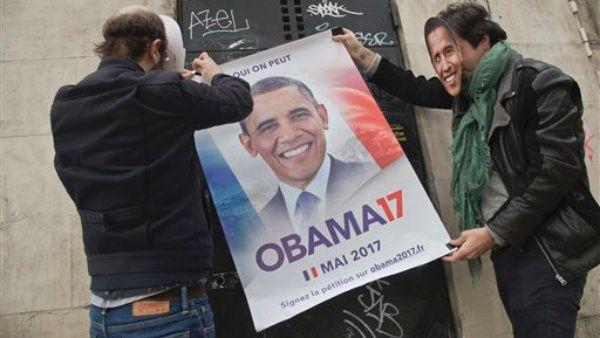 Piden a Barack Obama que opte por la presidencia de Francia