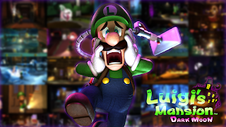 Luigi's Mansion Background