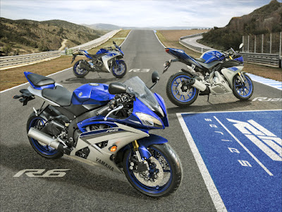 All New 2016 Yamaha YZF-R6 premium supersport bike