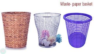 waste- paper basket