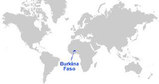 image: Burkina Faso Map Location