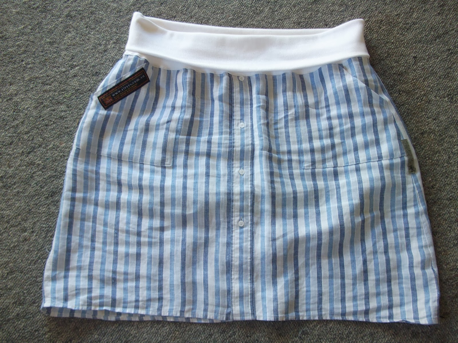 upcycle clothing, skirt