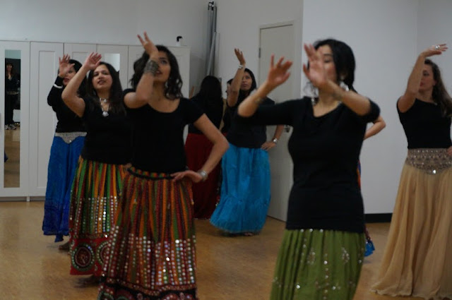 Bollywood fitness classes