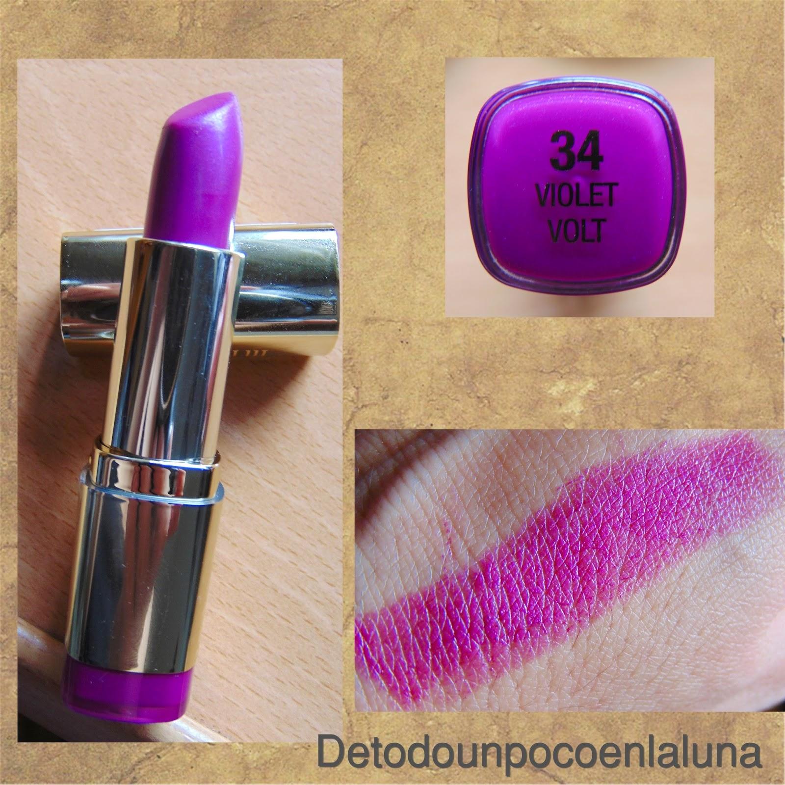labial violet volt milani