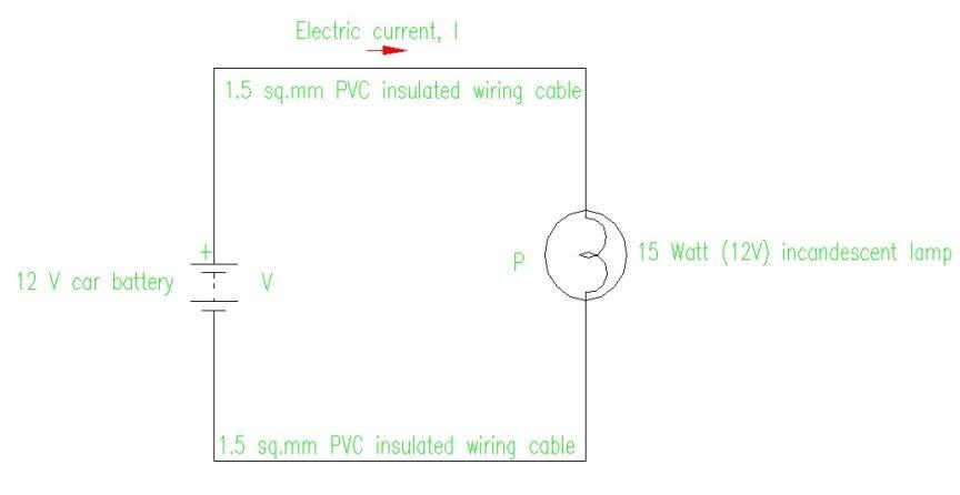 electric basic diagram wiring diagram schematic