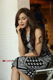 Telugu Actress Angela Krislinzki Latest Pos in Short Dress  0093.JPG