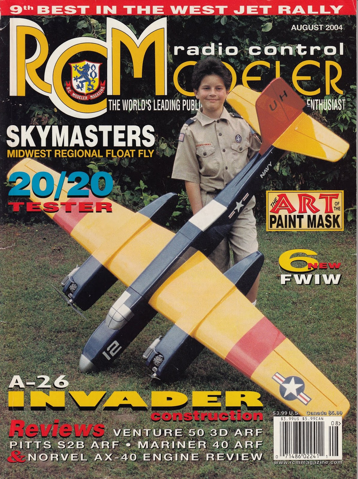 R/C Modeler Plan and Article Series: *RCM