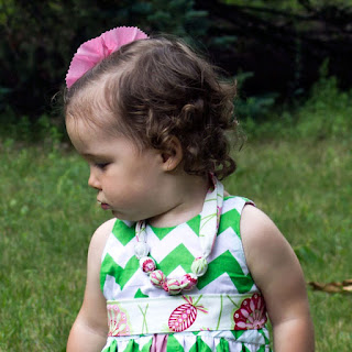 fabric necklace pattern for babies