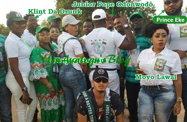 WATCH VIDEO!!! Photos: Nigerian Entertainers & Nollywood Actors Who Campaigned For Yahya Jammeh In Gambia