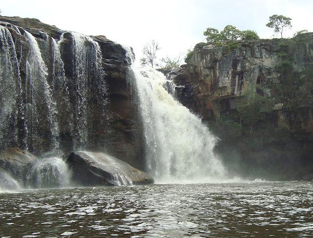 Conceição do Mato Dentro, Minas Gerais, Caminho dos Diamantes, Estrada Real, Cachoeira Três Barras