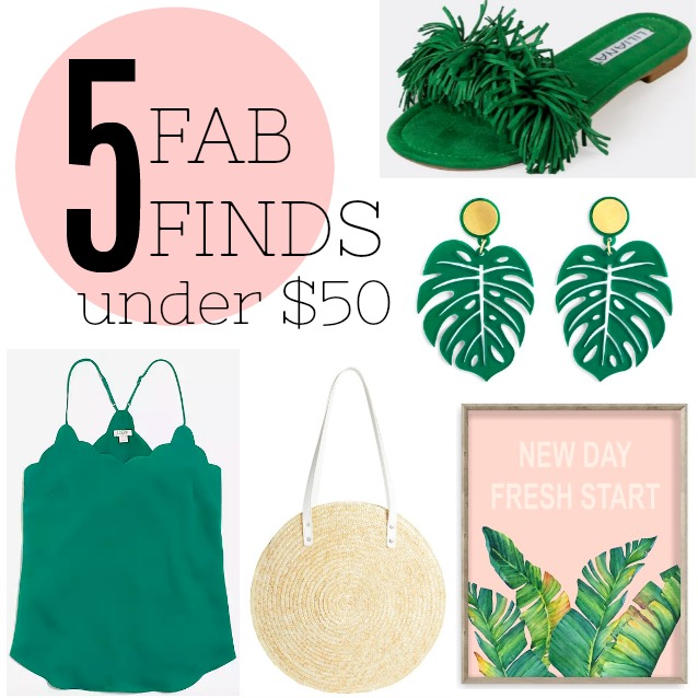 Fab Finds Under 50: 5 Fab Finds Under $50