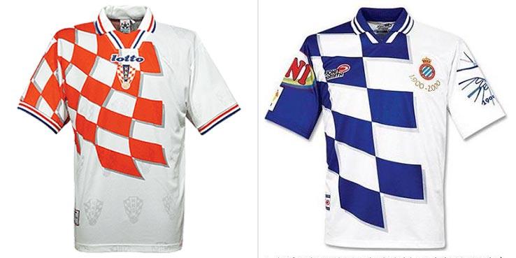 buy online 0fba4 4fba2 Barcelona City Rivals: Espanyol Wore Croatia Kit in 2000 ...