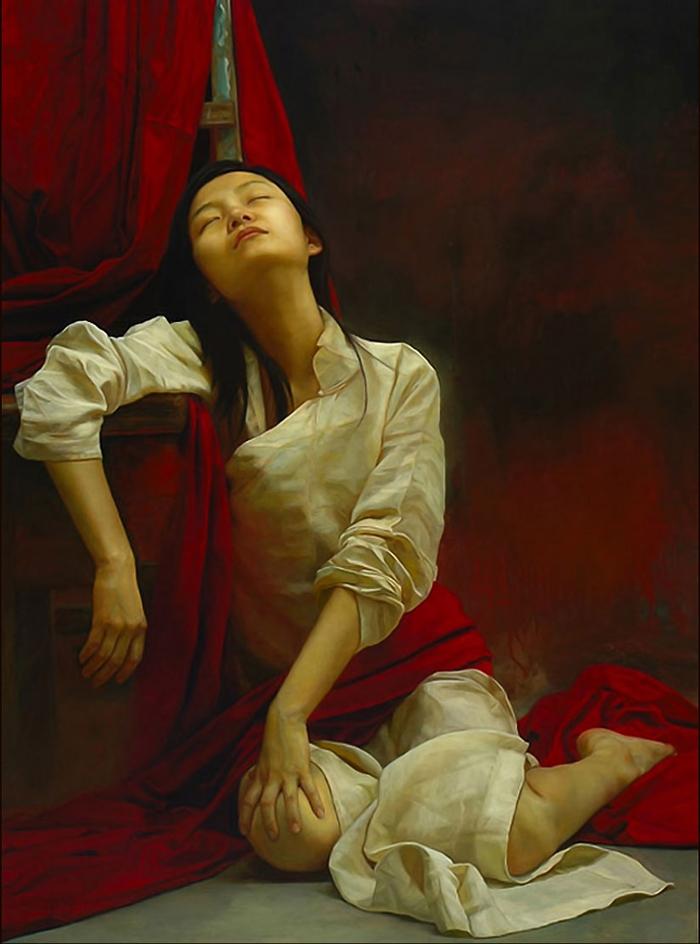 Реалистичные картины. Liu Yuanshou 13