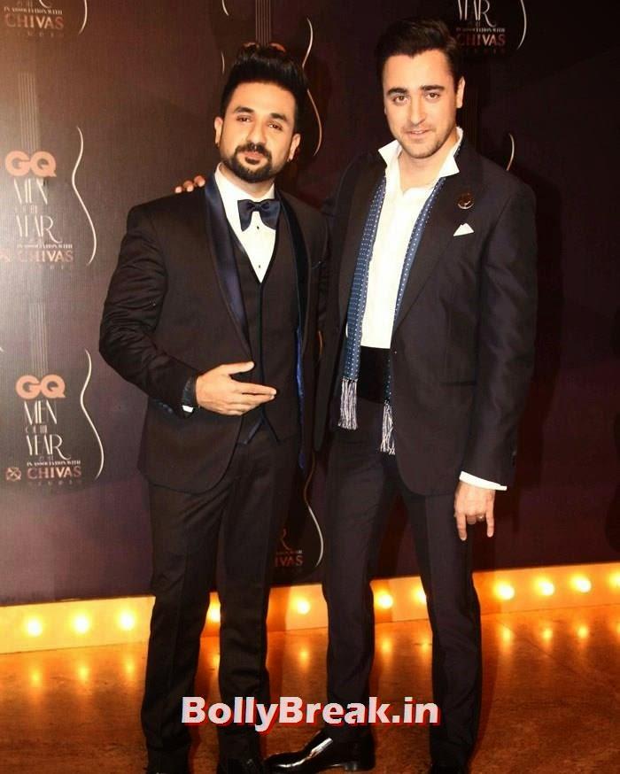 Vir Das, Imran Khan, Red Carpet Pics of GQ Men Of The Year Awards 2014