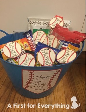 Gift idea for a baseball coach