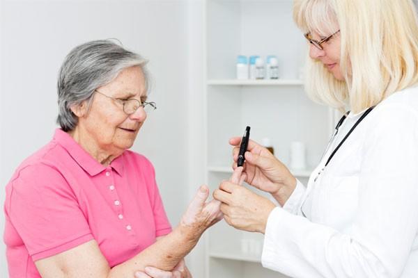 Сахарный диабет и уход за больными