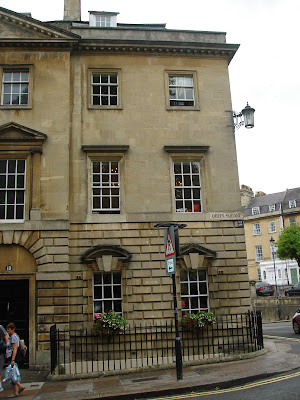 Queen Square Bath, building, UK
