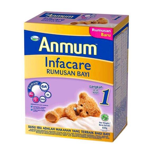 Susu anmum infacare step 1