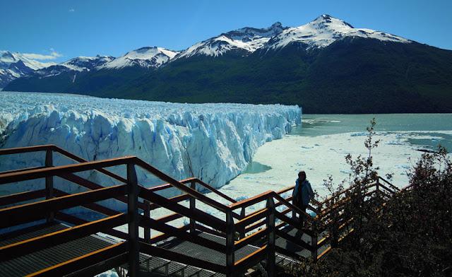 Passarelas do Perito Moreno, em El Calafate