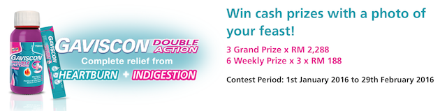 Cash Prizes up to RM2,288 each!