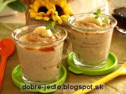 Gaštanovo-banánový krém - recept