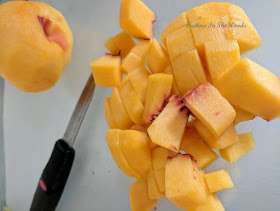 peach fruit roll recipe