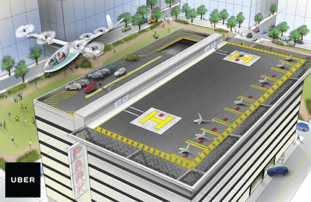 Uber تكشف عن مشروع ضخم لتكوين شبكة عالمية من السيارات الطائرة !