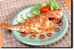 Cara memasak panggang pacak ikan kembung, resep membuat panggang pacak ikan