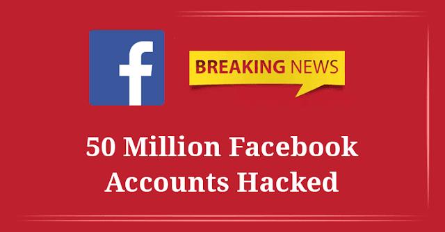 Facebook, 50 milioni di account rubati