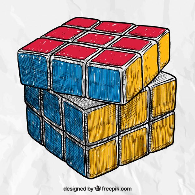 História do Cubo de Rubik/Cubo Mágico