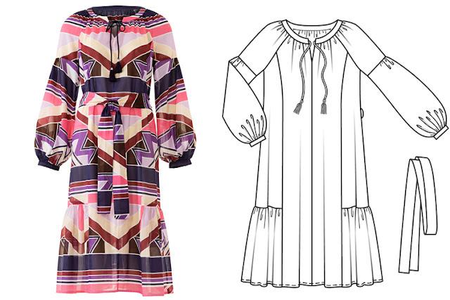 burda haziran 2018 elbise