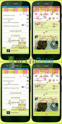 BBM Mod Keroppi Theme Apk