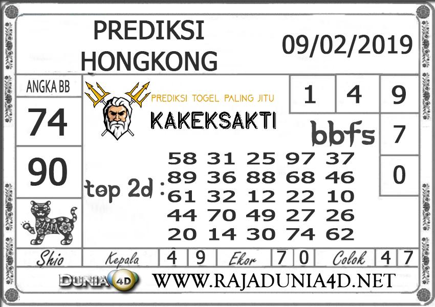 Prediksi Togel HONGKONG DUNIA4D 09 FEBRUARI 2019