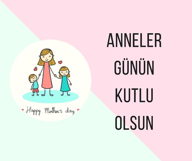 Anneler Günü kutlama görselleri